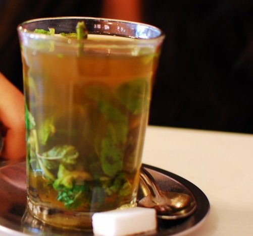 Mint Tea in Tunisia